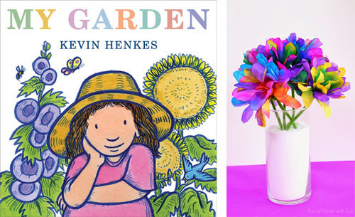 10 Children's Book + Crafts that Celebrate Spring Flowers