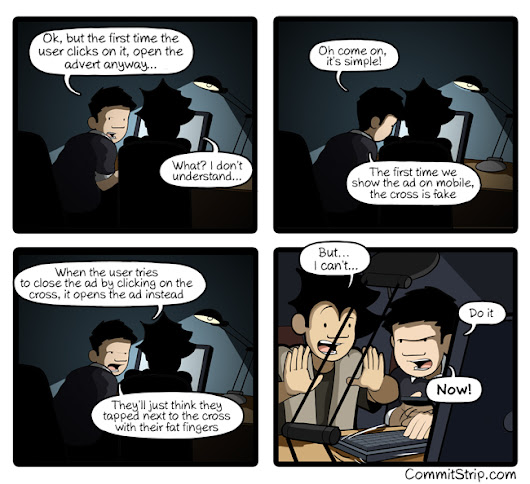 The Dark Side of Coding: The cross
