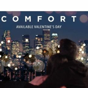 'Comfort' is a romantic film produced by Mark Heidelberger. / Photo via Clint Morris, October Coast PR. Used with permission.