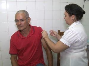 Vacinação contra gripe em Rondônia (Foto: Reprodução/Rede Amazônica)