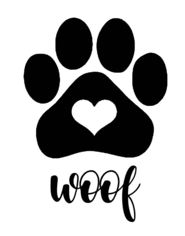Download Dog Paw Outline | Free download on ClipArtMag