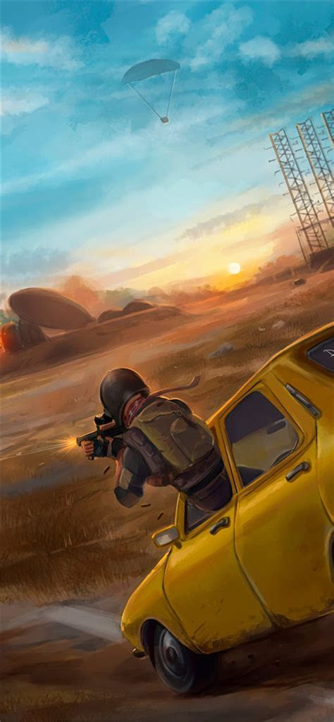 pubg car fight  iphone  wallpapers