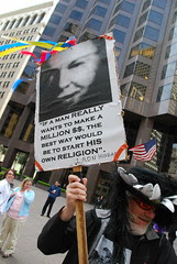 ...start his own religion - L Ron Hubbard