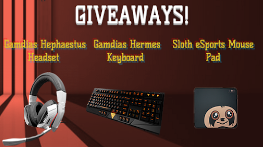 Flash Point eSports, Gamdias, and Sloth Esports August Giveaway