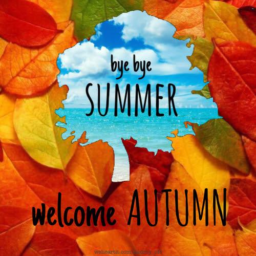 Resultado de imagen de welcome autumn images