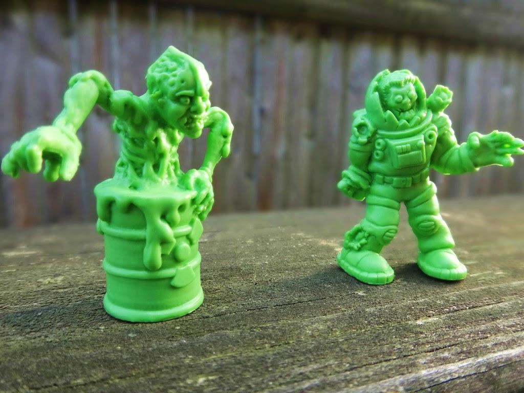 SLUG Zombies series 1 Decyain Dom Neail Armgone