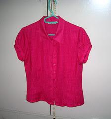 Vida Doria Linen blouse