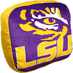LSU Tigers Travel Cloud Pillow
