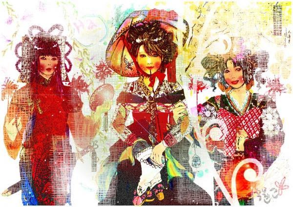 Sangsang est une jeune artiste féminine de Corée du Sud.  Elle fait des oeuvres d'art à l'aide de l'aquarelle, feutres, colles paillettes, peintures en aérosol et d'autres ornements personnels jetables.  Elle édite ensuite son travail via Photoshop pour créer des effets différents sur ses œuvres d'art.  Son art peut être décrit comme différent, original, coloré et ludique.  Pour elle, elle est inspirée de faire plus d'art, car elle croit que tout ce qu'elle fait crée des histoires, des histoires qu'elle souhaite partager à tout le monde par son travail.  À son avis, son travail est différent des autres artistes parce qu'elle quand elle dessine, elle essaie de se représenter comme celui ou ce qu'elle dessine.  Voilà comment elle intériorise pour être en mesure de créer son propre art.  Elle croit qu'elle peut changer la Corée à travers ses dessins.