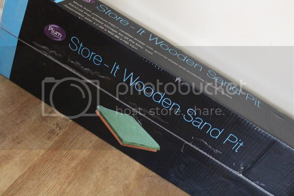 Plum Sandpit box