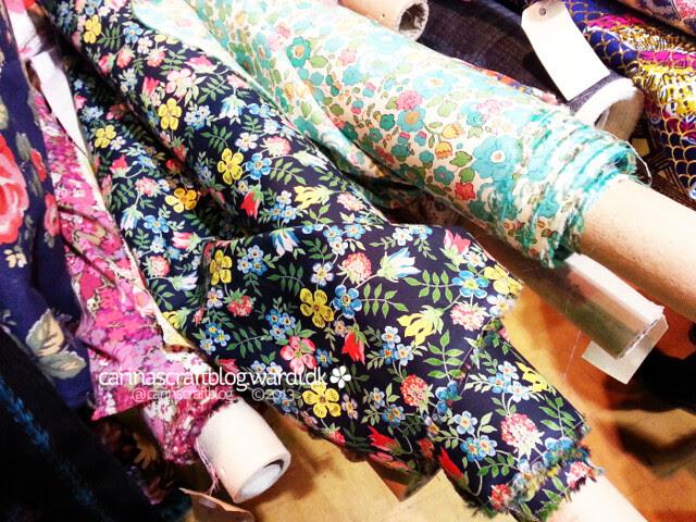 Threads Festival at Farnham Maltings: Liberty fabrics - so pretty