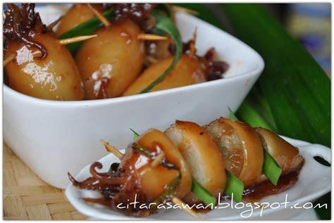 ketupat sotong kelantan resepi terbaik