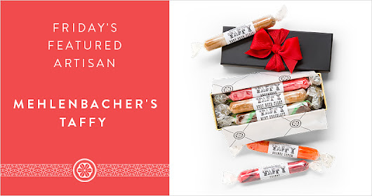 Friday's Featured Artisan - Mehlenbachers Taffy
