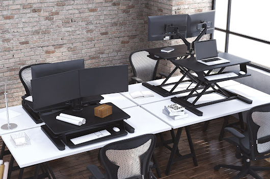 The MultiTable Desktop Sit to Stand Workstation | MultiTable
