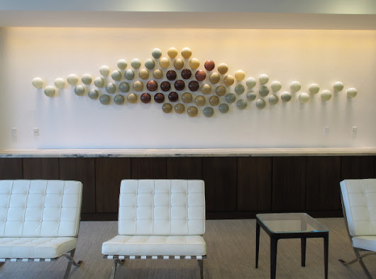 Art Glass Wall Sculpture