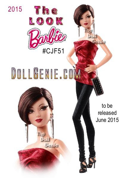 New Barbie Look City Shine dolls coming in June 2015