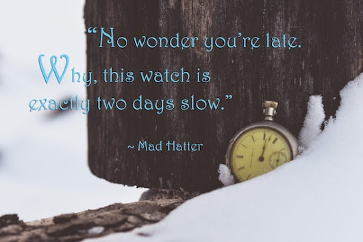 Mad Hatter Quote Alice in Wonderland Quote by EverafterImages