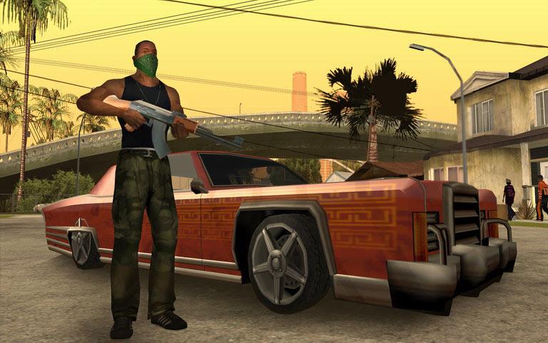 تحميل لعبة GTA SAN ANDREAS pc+ آ كود وكلمات سر مترجمة باللغة العربية  لتحميل + save game