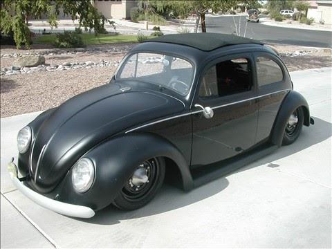 Your Daily Car Fix Slammed Flat Black Bug