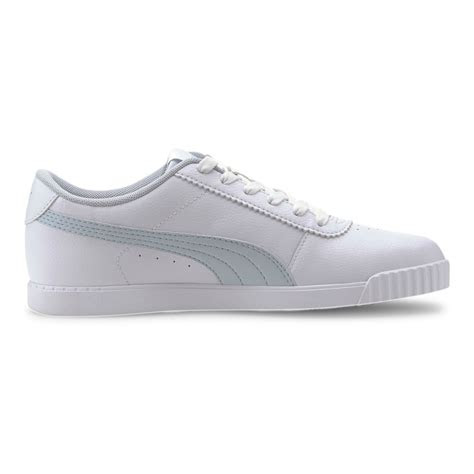 buy puma carina slim sl women white light blue  jogging point