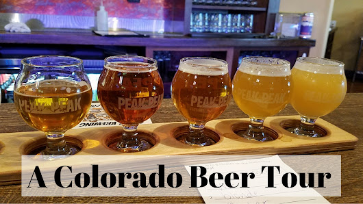 A Colorado Beer Tour - T and A in the US of A