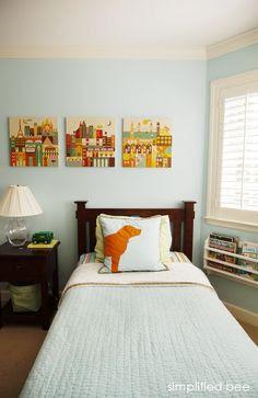 Nursery} Blue rooms @