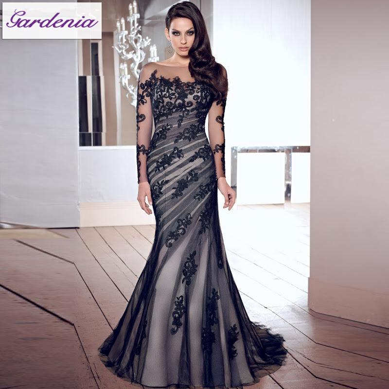 Designer long evening dresses online