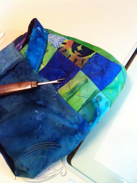 IMG_4121 Fabric Basket in progress