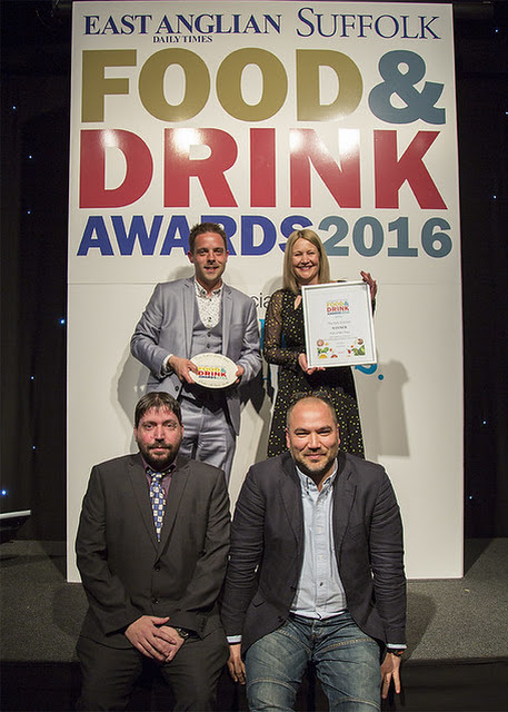 EADT Suffolk Food & Drink Awards 2016 | Adnams Southwold
