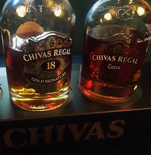 Chivas Regal Extra and Chivas Regal 18! Different tastes but one stood out the most for me. #chivas ...