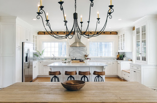 New This Week: 4 Dreamy White and Wood Kitchens to Learn From