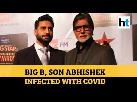 Amitabh Bachchan Infected with COVID-19