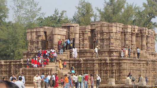 Konark Sun Temple Orissa Dedicated to Sun God