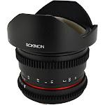 Rokinon RKHD8MV-C Fisheye Lens for Canon EF - 8mm - T/3.8