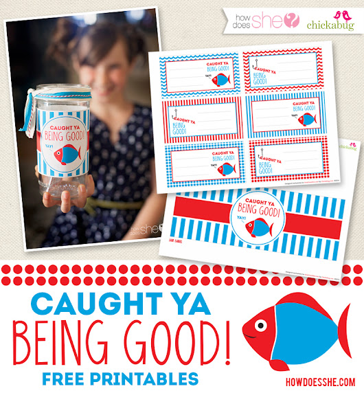 Caught you being good! Free Exclusive Printable