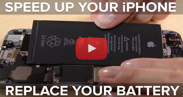 Video: Speed up your phone with a new battery