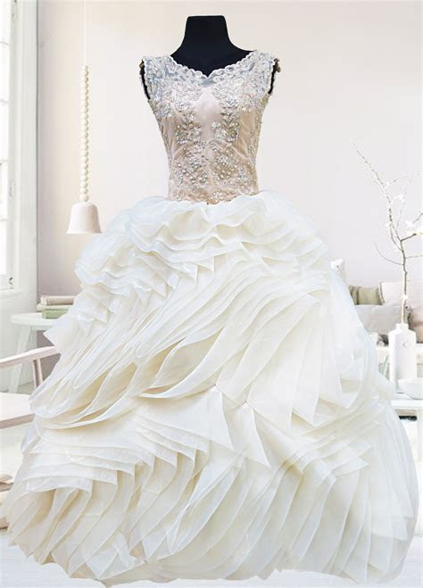 Ball Gown for a wedding, debut, prom, or ball.   Wedding