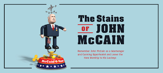 The Stains of John McCain: A Front Page Confidential Special Report