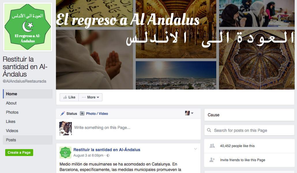 Risultati immagini per Restituir la santidad en Al-Ándalus