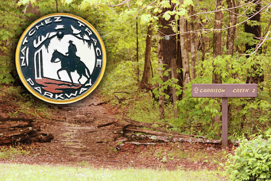 Volunteer trail maintenance on Natchez Trace National Scenic Trail Leiper's Fork