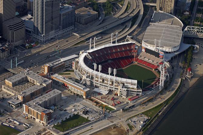 The Banks, Great American Ballpark & US Bank Arena