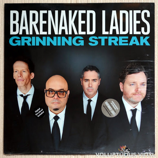 Barenaked Ladies ‎– Grinning Streak (2013) SEALED