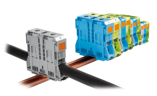 World's First Spring Terminal for Conductor Cross-Sections up to 185 mm