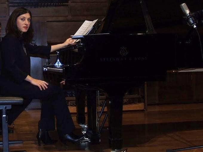 La pianista Karina Azizova