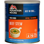 Mountain House Beef Stew Can