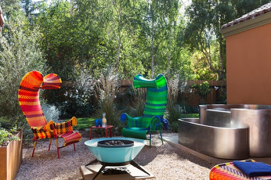This Whimsical Backyard Is Ready to Party