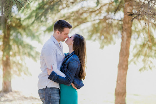 Engagement photos at The Forks | Lindsay + Kyle