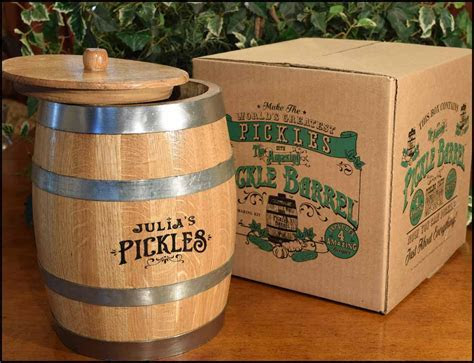 The Amazing Pickle Barrel?