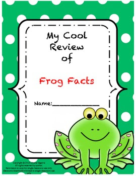 Frog Facts Review (FREE)