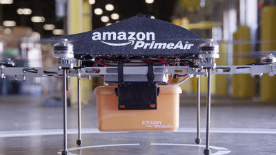With Prime Air, Amazon plans to deliver purchases via drones
